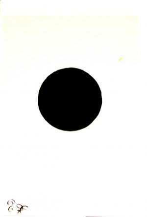 Black Sun Original Water Color Painting by SOLLOG