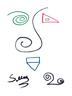 Sollog Triangle Face Drawing 2020