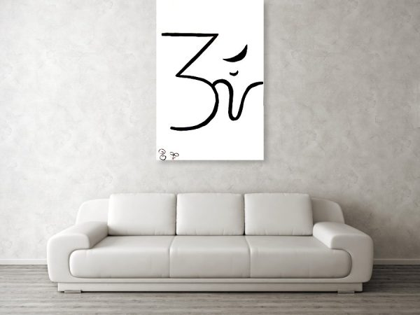 Sollog Abstract Art OM Giclee Print Wall