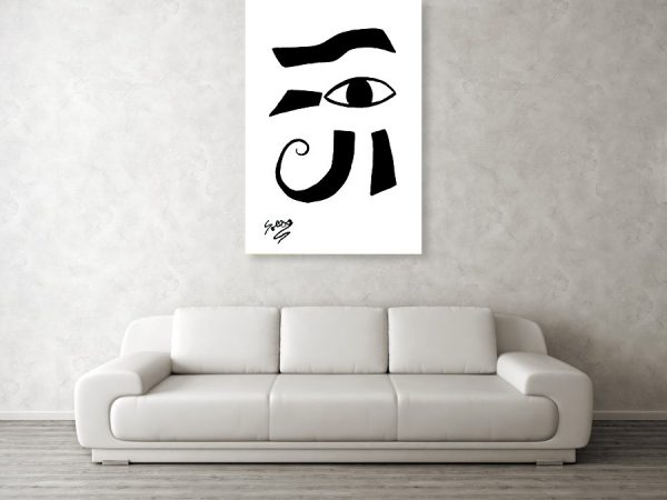 Sollog Abstract Art Eye of Ra Wall